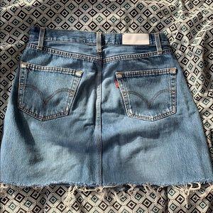RE/DONE Levi's Denim Mini Skirt 29